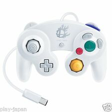 New Wii Official Nintendo Super Smash Bros. White Classic Gamecube Controller JP