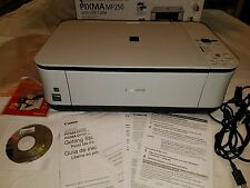 Canon NEW PIXMA MP250 All-In-One Inkjet Printer WITH INK