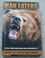 MANEATERS maneating bear shark lion crocodile etc Hardback
