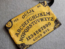 Ouija Clutch Bag Purse wristlet cotton handmade Gift Goth Oracle Spirit Board
