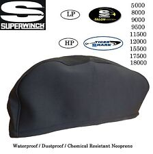 Superwinch Cover Neoprene  8000 9000 10000 12500 15000 17500 18000lb Snugly Fit