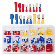 120Pcs Assorted Crimp Terminals Set Insulated Electrical Wiring Connector Kit