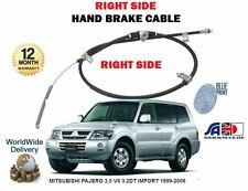 FOR MITSUBISHI PAJERO 3.5 V6 GDi 3.2DT IMPORT 1999-> RIGHT REAR HAND BRAKE CABLE