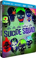 New Suicide Squad 3D Blu-Ray Limited Edition Collector's Steelbook Region Free