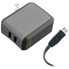 Ventev wallport r2240 Wall Charger, Dual 2.4A USB Port, Micro USB Cable - 504859