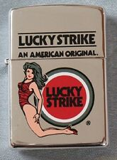 ZIPPO-LUCKY STRIKE RARE PIN-UP GIRL IN THONG FROM JAPAN-1996-MIB
