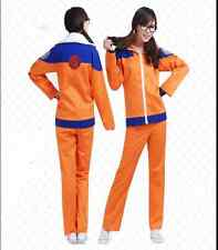 NARUTO Uzumaki Naruto Ninja Cosplay Costume Suit Jacket and Pants 1608