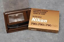 NIKON N90/N90S/F90/F90S/F90D FOCUSING SCREENS, YOUR CHOICE $17.99 FREE USA SHIP