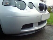 GENUINE BMW E46 Compact FRONT BUMPER lower SPLITTER SPOILER PTN Trim Lip Addon