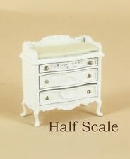 """Bespaq Dollhouse Miniature  1/2"""" SCALE  """"SWEET WREATH"""" CHANGING TABLE  S-1646-W"""