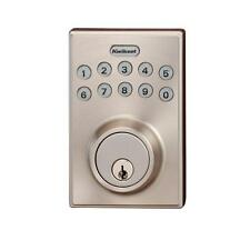 Kwikset Keyless Entry Electronic Deadbolt Satin Nickel 264CNT 15SCALSCS - N