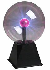 Creative Motion 7 inch Plasma Ball Sound Activated Science Tesla Lamp Gift 10194