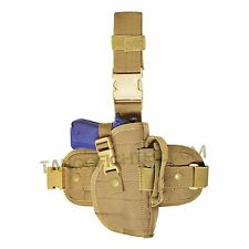 CONDOR ULH right handed Drop Leg Thigh Rig Universal Leg Pistol Holster Tan