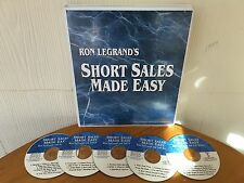 Short Sale Secrets Course By Ron LeGrand & Jeff Kaller - MANUAL & 5 CD PACKAGE!