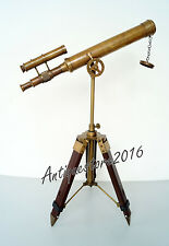 Nautical Antique Replica Telescope 18 inch with Adjustable Tripod Desktop Stand