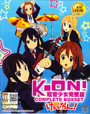 K-ON ! (Season 1+2) Vol. 1-36End + Movie + 5 OVA Complete Box Set (Eng Sub)