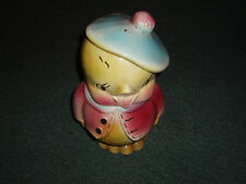 American Bisque Sweet Old Chick Antique Cookie Jar