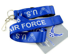 "Official Licensed Products Military Blue ""U.S.AIR FORCE"" Lanyards"
