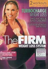 THE FIRM TURBOCHARGE TURBO CHARGE WEIGHT LOSS DVD NEW EXERCISE FITNESS WORKOUT