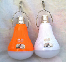 SET OF 2 18W 40 LED/SMD RECHARGEABL EMERGENCY LIGHT BULB  LAMP WITH2 MODE AC/DC