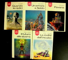 Lotto stock di 5 romanzi fantascienza La Tribuna Science Fiction Book Club