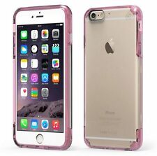 "PureGear Apple iPhone 6S PLUS (5.5"") Slim Shell Pro Case Slim Cover CLEAR / Pink"