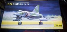 Heller  Mirage IV A  Military Aircraft 1/72 Vintage Kit