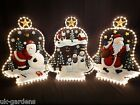 Christmas Rope Light; Decoration Outdoor Indoor Garden Ropelight Santa Snowman