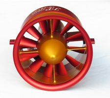 Violent CW CCW 70mm 12 Blades Electric Metal Ducted Fan 2250KV 4~6S Jet Engine