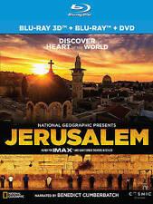 Jerusalem (Blu-ray/DVD, 2015, 2-Disc Set, 3D)