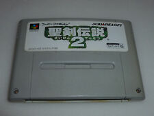 SUPER FAMICOM GAME CARTRIDGE SEIKEN DENSETSU SECRET OF MANA 2 JAPAN SUPER SNES