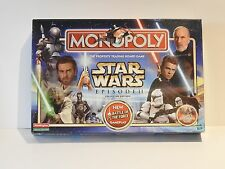 STARWARS EPISODE 2 MONOPOLY NEW & SEALED
