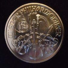 Austrian Philharmonic Fine Silver 2015 1 oz Ounce Bullion Coin Uncirculated .999