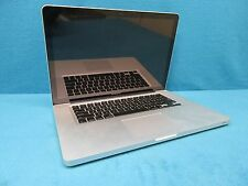 "Apple MacBook Pro A1286 15.4"" Laptop Intel Core 2 Duo 2.53GHz 4GB RAM 250GB HDD"