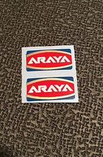 ARAYA RIM DECALS