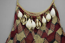 Papua New Guinea East Sepik Province Abelam Tribe Shell Currency Bilum Bag