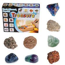 Trésor caché - Archéologie pour enfants - Pierres précieuses, minéraux, cristaux