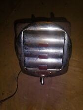 Antique arvin chrome 1940s art deco car heater hot rod rat