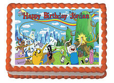 Adventure Time Party Premium Edible Frosting Cake Topper