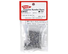 KYOIFW427 Kyosho Titanium Screw Set (TKI3/TKI4)