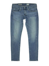 $205 AG Jeans Nikki Crop Relaxed Skinny Crop Boyfriend Jean, 18 Year Enchant 24