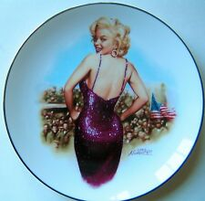"Marilyn Monroe Magic Of Marilyn Collector Plate ""For Our Boys In Korea "" - NEW"
