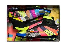 "2016 NIKE ""cosa"" MERCURIAL SUPERFLY se FG VOLT color argento taglia UK 9,5 EU 44,5"