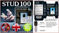 Genuine Stud 100 Male Genital Desensitizer Delay Spray Authentic Stud UK 10/2020