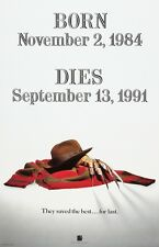 A Nightmare On Elm Street movie poster (a) 11 x 17 inches : Freddy's Dead poster