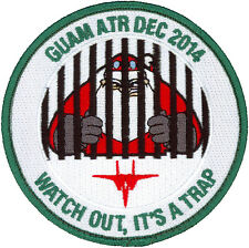 USAF 67th FIGHTER SQUADRON - GUAM - AVIATION TRAINING RELOCATION 2014 - PATCH