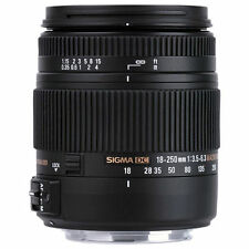 Sigma 18-250 mm F3,5-6,3 DC Macro OS HSM 62 mm Filtergewinde Canon 2/9878