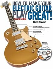 How To Make Your Electric Guitar Play Great 2nd Edition Dan Erlewine Book NEW!