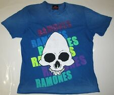 Amplified vintage official The Ramones pedrería Skull estrella de rock VIP t-shirt G. XL