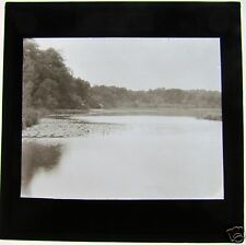 Glass Magic Lantern Slide ARLESFORD - THE POND C 1910 HAMPSHIRE